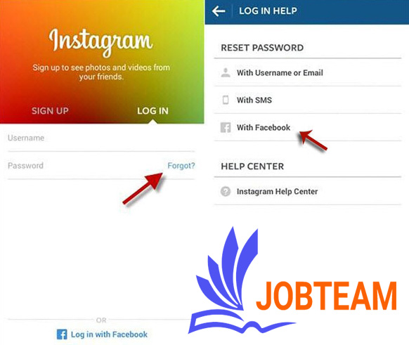restore instagram account without email